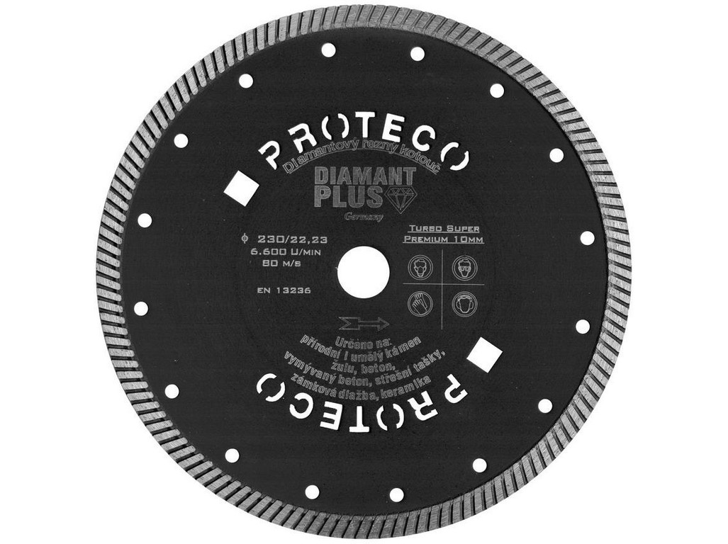 kotouč dia 230 mm  DIAMANT PLUS